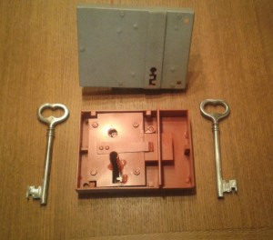 Krabicový zámek
